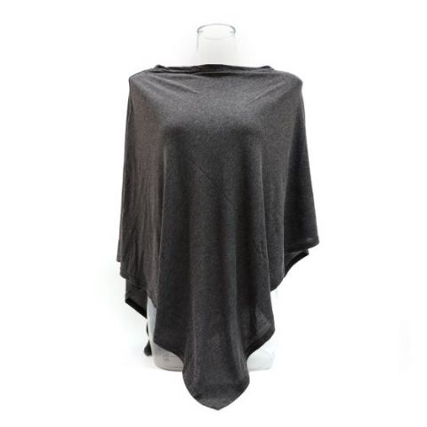 LIGHTWEIGHT CHARCOAL GREY WRAP